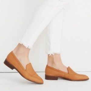 Madewell Frances Leather Loafers Slip On Shoes